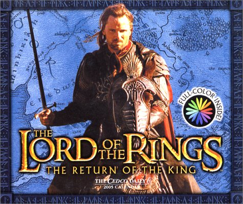 The Lord of the Rings Return of the King 2005 Calendar