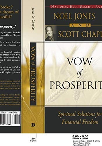 9780768424881: Vow of Prosperity