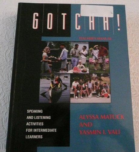 Gotcha! - Teacher's Manual (Dominie ESL Titles)