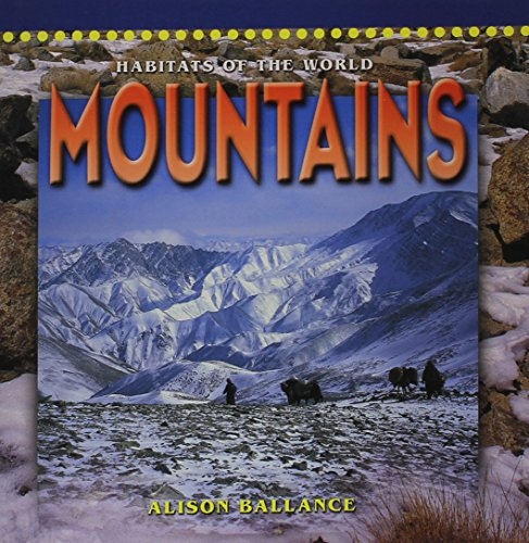 9780768509489: MOUNTAINS (Dominie Habitats of the World)