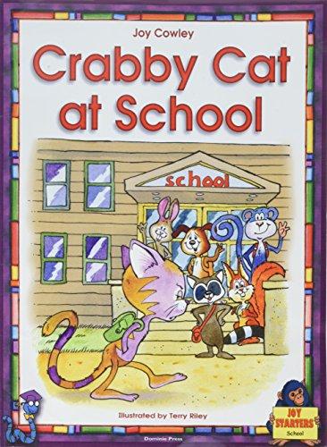 CRABBY CAT AT SCHOOL LAP BOOK (Dominoe Joy Starters School): Joy Cowley