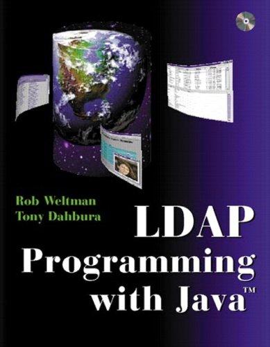 9780768682144: LDAP Programming with Java (Paperback)