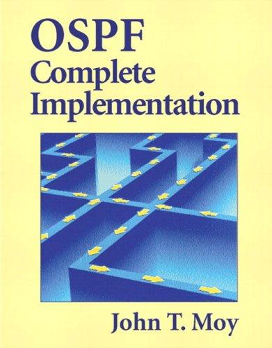 OSPF Complete Implementation (paperback) Format: Paperback: Moy, John T.