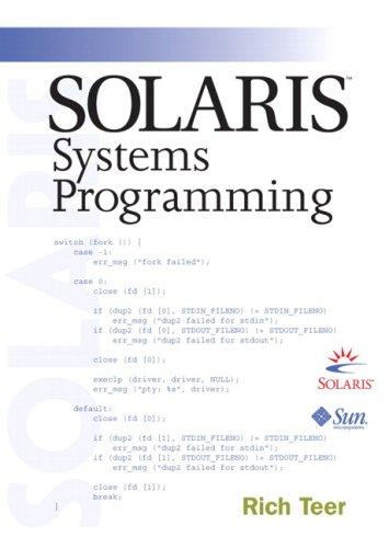 9780768682236: Solaris Systems Programming (paperback)