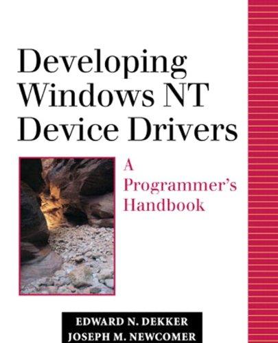 9780768682250: Developing Windows NT Device Drivers: A Programmer's Handbook