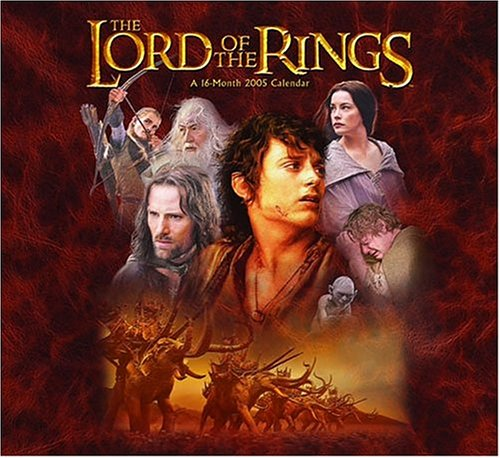 9780768861921: The Lord of the Rings 2005 Calendar