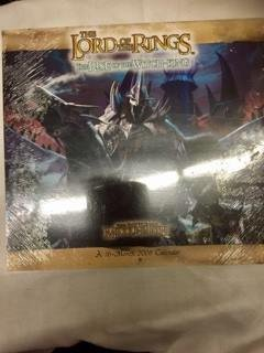9780768881967: The Lord of the Rings 2008 Calendar: The Rise of the Witch-king - the Battle for Middle-earth