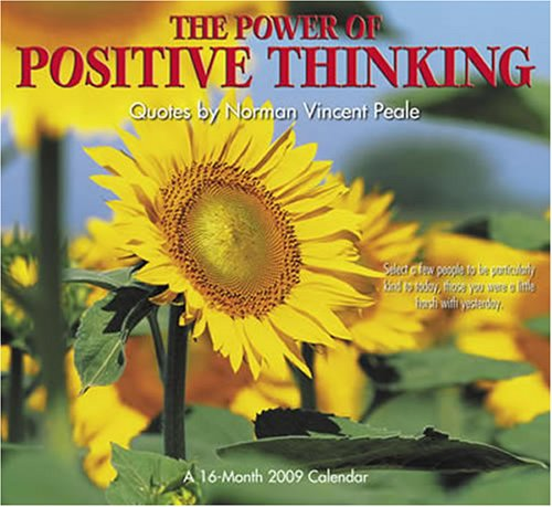 9780768887907: The Power of Positive Thinking 2009 Calendar