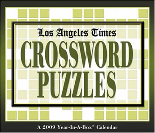 Los Angeles Times Crossword Puzzles 2009 Calendar