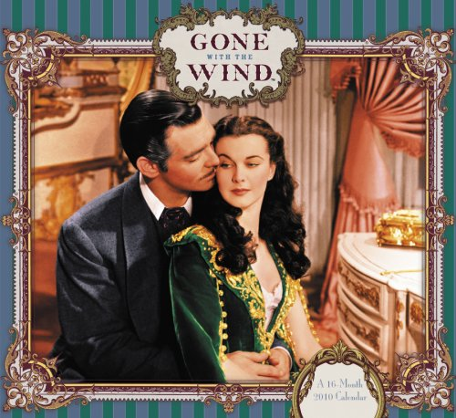 9780768894769: Gone With The Wind 2010 Wall Calendar
