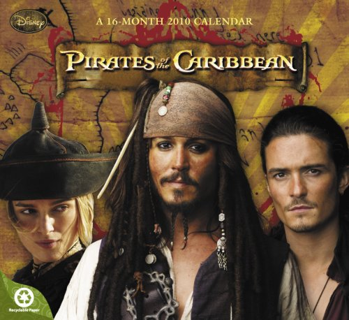 Pirates of the Caribbean 2010 Wall Calendar: DayDream