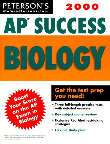 Peterson's 2000 Ap Success Biology (Ap Success : Biology, 2000): Freeman, Dana; Chenery, ...