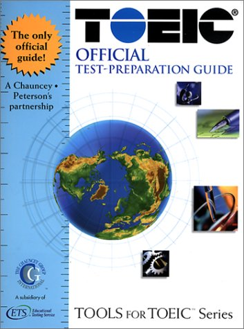 9780768904765: Toeic Official Test-Preparation Guide: Test of English for International Communication (Tools for Toeic Series)