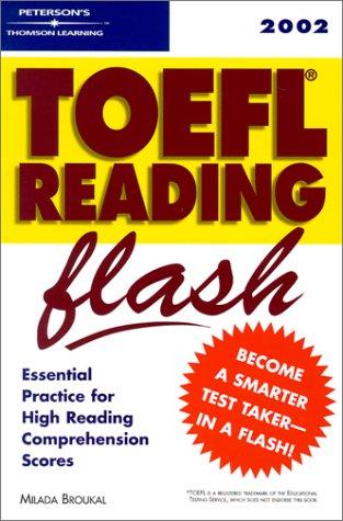9780768906257: TOEFL Reading Flash 2002