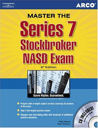 9780768906325: Series 7 Stockbroker NASD Exam (Arco Professional Certification and Licensing Examination Series)