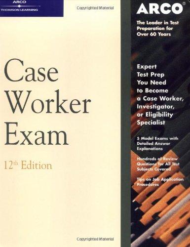 9780768907001: Master Case Worker Exam 12th ed (ARCO CIVIL SERVICE TEST TUTOR)