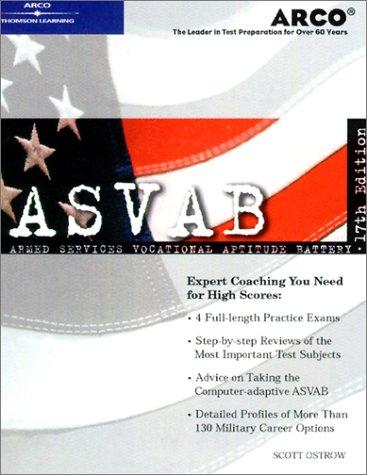 9780768907087: ASVAB 17th Edition (Peterson's Master the ASVAB)