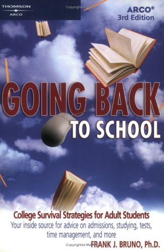 9780768907124: Going Back to School 3E (Arco Going Back to School)