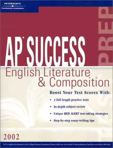9780768907209: AP Success: English Lit and Comp 2002 (Peterson's Master the AP English Literature & Composition)