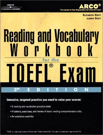 9780768907834: TOEFL Reading Vocab Wkbk 3/E (Toefl Reading and Vocabulary Workbook, 3rd ed)