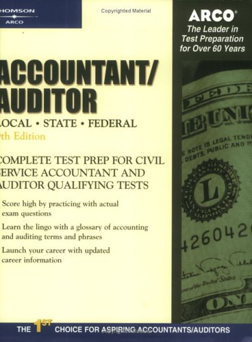 9780768908510: Arco Accountant Auditor