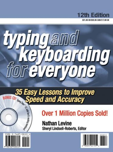 9780768908534: Typing and Keyboarding for Everyone: 35 Easy Lessons to Improve Speed and Accuracy