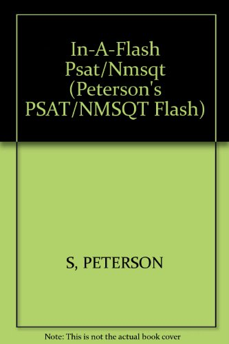 9780768908602: In-A-Flash PSAT/NMSQT, 4E (Psat in a Flash, 2003)