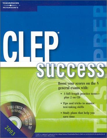 9780768908992: CLEP Success 2003, 5th ed