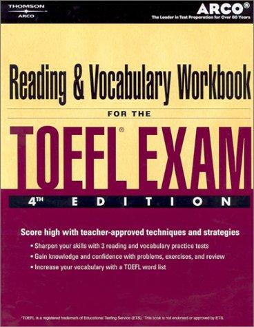 9780768909760: TOEFL Reading Vocab Wkbk 4/e (Arco Academic Test Preparation Series)