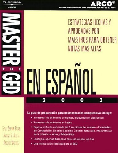 9780768910025: Master the Ged En Espanol 2003 (Arco Academic Test Preparation Series)