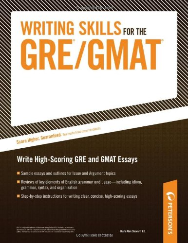 9780768910940: Writing Skills for the GRE and GMAT Tests
