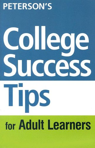 9780768911404: College Success Tips for Adult Learners