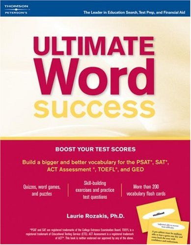Ultimate Word Success (w/flash cards), 1st edition: Peterson's