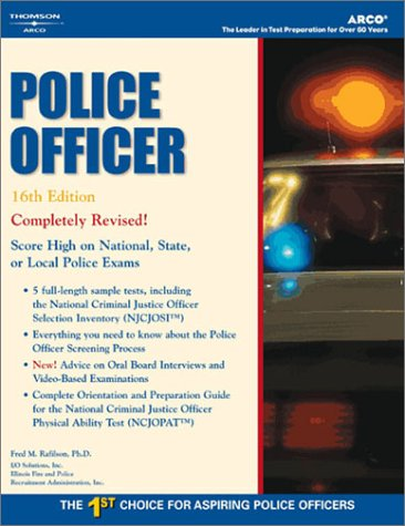 Master the Police Officer Exam, 16/e (Peterson's: Arco