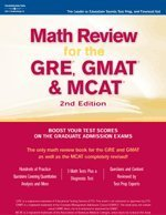 9780768913231: Math Review: GRE, GMAT, MCAT 2nd ed (Peterson's GRE/GMAT Math Review)
