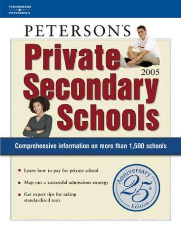 9780768913644: Private Secondary Schools 2004-2005