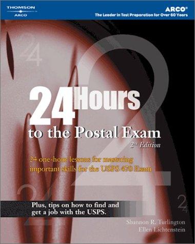 9780768914092: 24-Hours to Postal Exams, 2E (24 Hours to the Postal Exams)