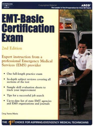 9780768914122: EMT - Basic Certification Exam (2nd Edition)