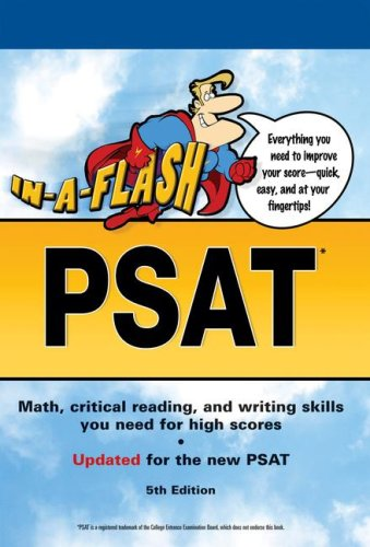 9780768914160: In-a-Flash PSAT, 5E