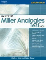 Master the Miller Analogies Test 2005 (Academic: William Bader, Daniel