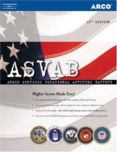 9780768915259: ASVAB 19th Edition (Peterson's Master the ASVAB)
