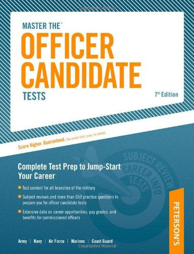 9780768917017: Officer Candidate Tests, 7th Edition