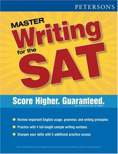 9780768917147: Peterson's Master Writing for the SAT
