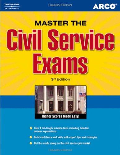 9780768918328: Master the Civil Service Exam 3rd ed