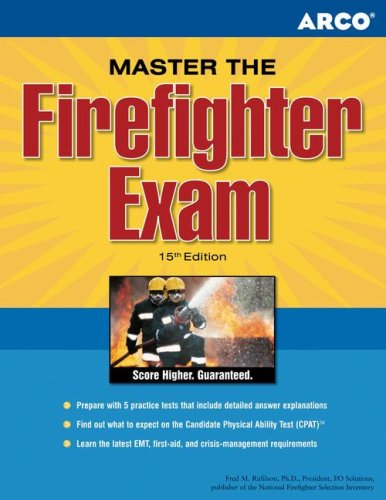 9780768918342: Master the Firefighter Exam, 15/e (Arco Master the Firefighter)