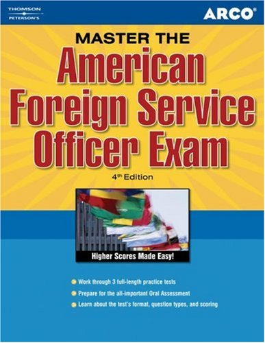 9780768918359: Master the American Foreign Service Officer Exam, 4th Edition