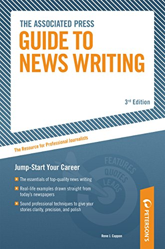 9780768919790: Associated Press Guide to News Writing: The Resource for Professional Journalists