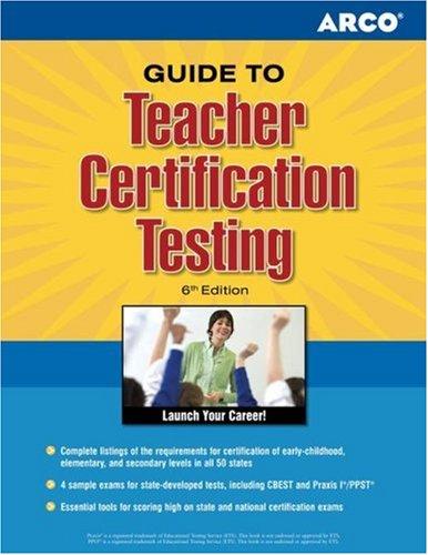 Guide To Teacher Certification Testing: Hammond, Wallie Walker