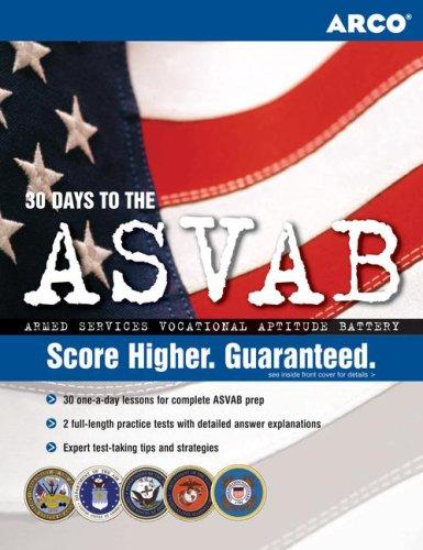 9780768923216: ASVAB 20th Edition (Peterson's Master the ASVAB)