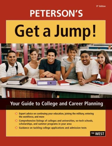 Get A Jump!: West 9th edition (0768924553) by Peterson's, Thomson
